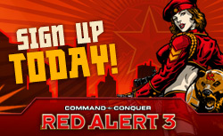 Red Alert 3 - Interactive Flash Ads