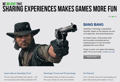 PoweredByGameSpy.com Homepage