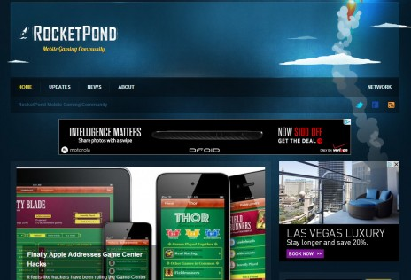 RocketPond Homepage Nov 2013